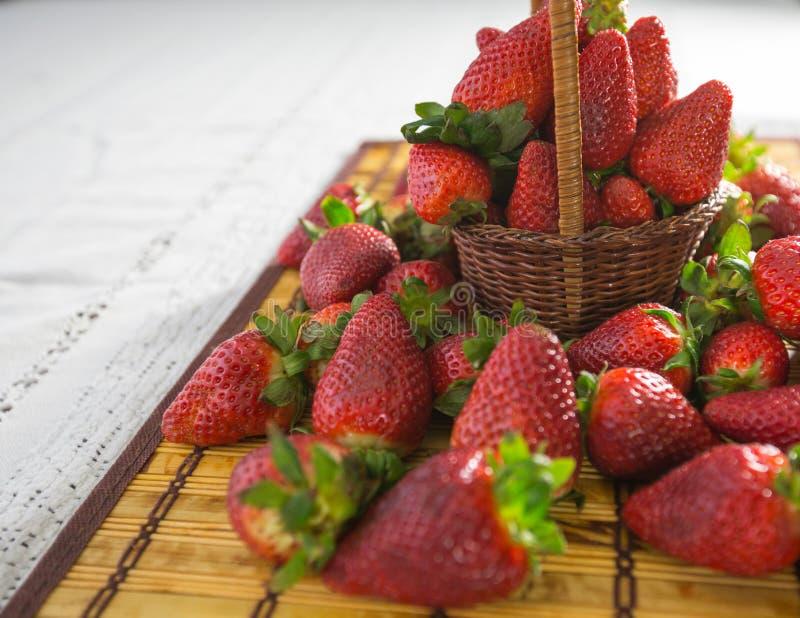 Φράουλες ΙΙΙ στοκ εικόνες