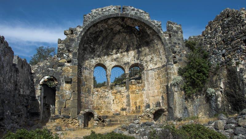 Μια αρχαία εκκλησία στον Άγιο Βασίλη στοκ εικόνες
