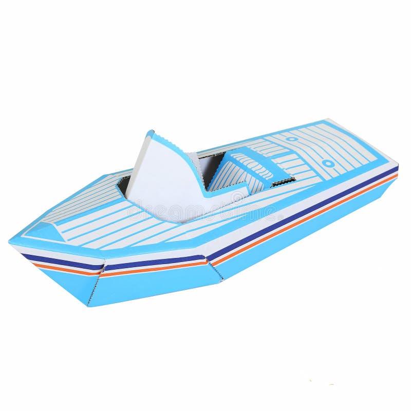 Μια βάρκα παιχνιδιών στοκ φωτογραφίες