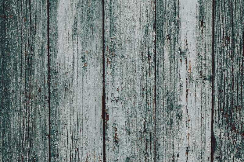 Μια βρώμικη γκρίζος-πράσινη ξύλινη επιφάνεια Γκρίζοι ξύλινοι πίνακες Ξύλινο υπόβαθρο σύστασης σανίδων Παλαιός ξύλινος πίνακας, φρ στοκ φωτογραφίες με δικαίωμα ελεύθερης χρήσης