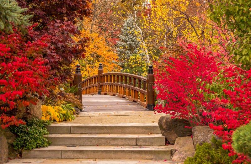 Μια γέφυρα από το παραμύθι στοκ φωτογραφία με δικαίωμα ελεύθερης χρήσης