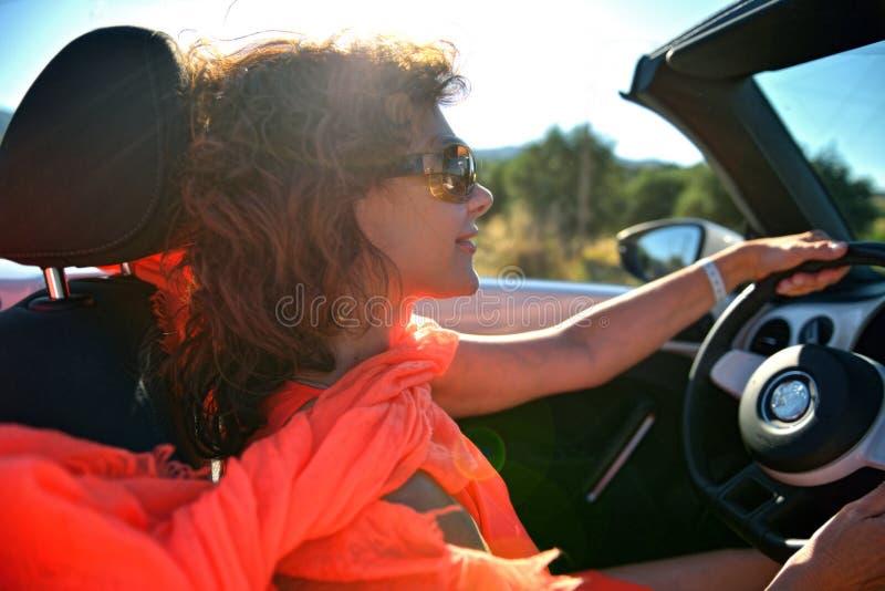 Μια γυναίκα στοκ φωτογραφία με δικαίωμα ελεύθερης χρήσης