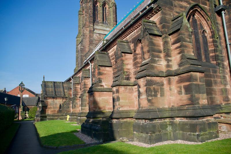 Μια γωνία της εκκλησίας στοκ φωτογραφία με δικαίωμα ελεύθερης χρήσης