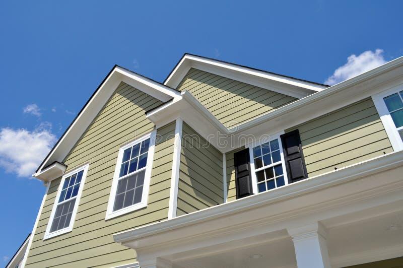 Πρότυπο σπίτι στοκ φωτογραφία με δικαίωμα ελεύθερης χρήσης