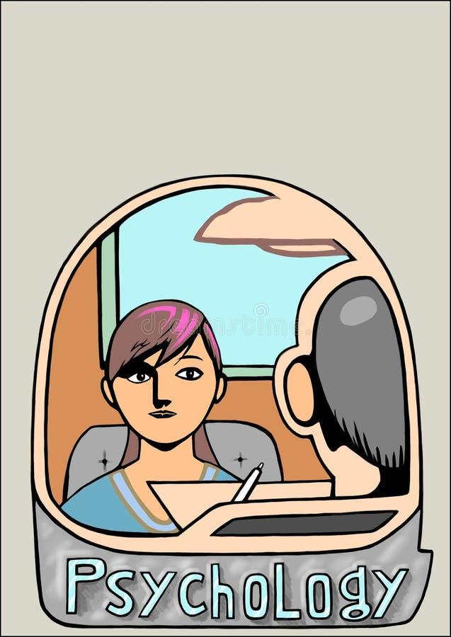 Μια επίσκεψη στον ψυχολόγο απεικόνιση αποθεμάτων