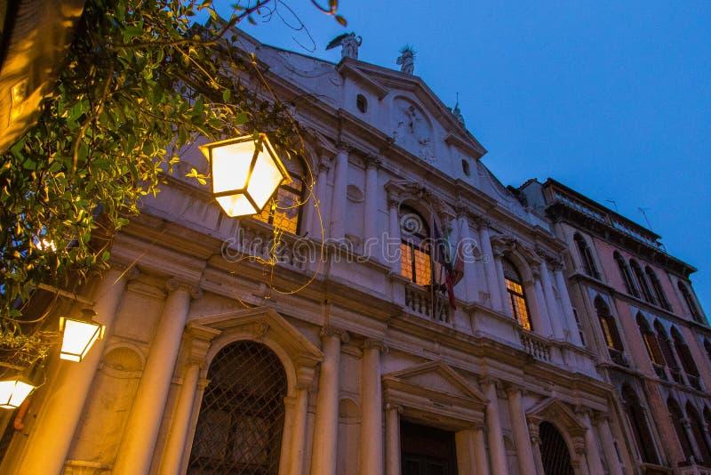 Μια επίσκεψη της Βενετίας όταν δεν είναι οι τουρίστες εκεί στοκ φωτογραφία