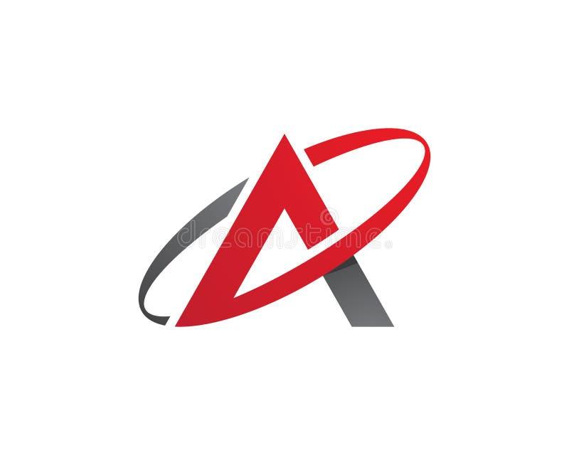 Μια επιχείρηση λογότυπων επιστολών διανυσματική απεικόνιση