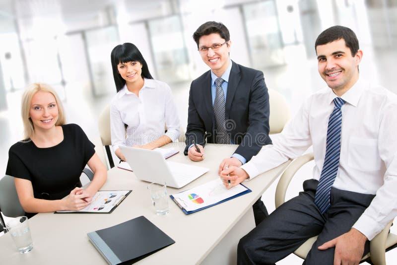Μια επιχειρησιακή ομάδα στοκ εικόνες