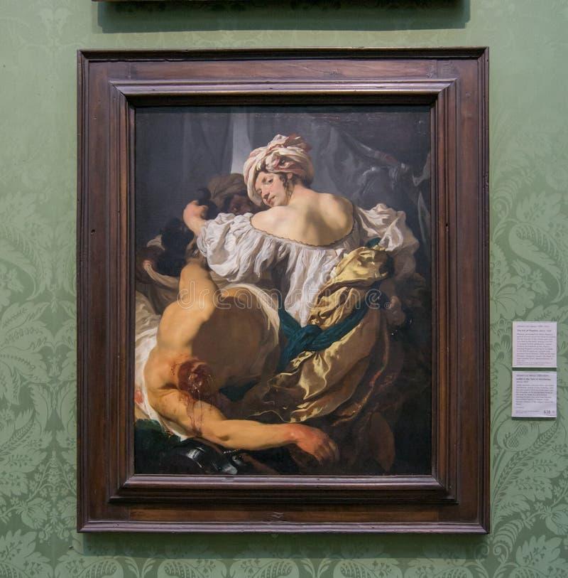 Μια ζωγραφική από το Johann Liss στο National Gallery του Λονδίνου στοκ φωτογραφία με δικαίωμα ελεύθερης χρήσης