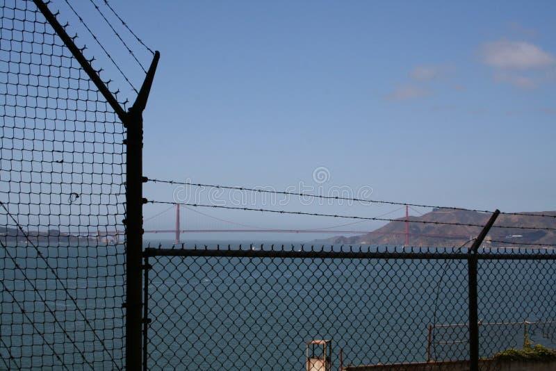 Μια ημέρα στη φυλακή Alcatraz στοκ φωτογραφίες με δικαίωμα ελεύθερης χρήσης