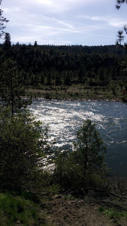 Μια ημέρα στον ποταμό στοκ εικόνες με δικαίωμα ελεύθερης χρήσης