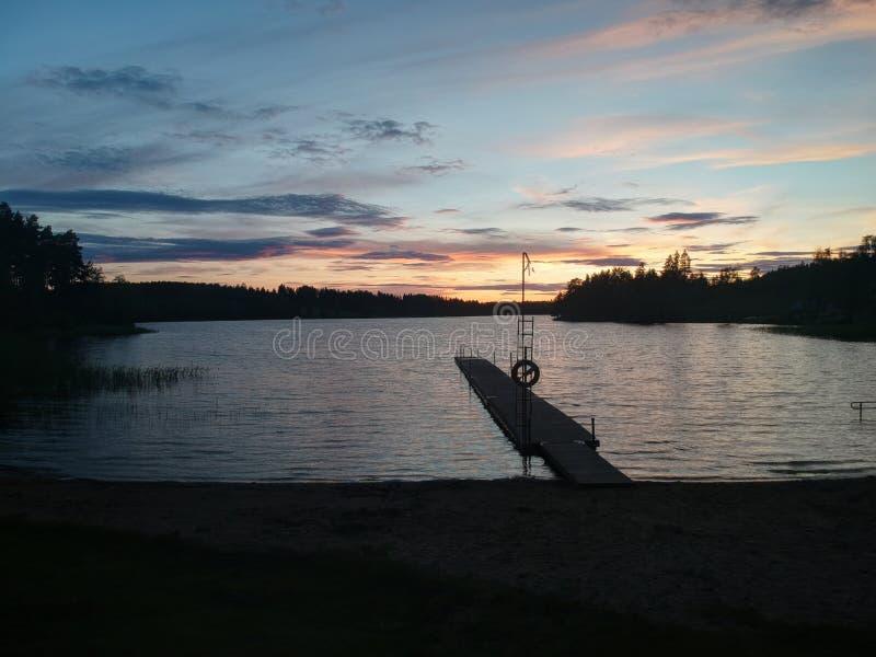Μια θερινή νύχτα στοκ φωτογραφία με δικαίωμα ελεύθερης χρήσης