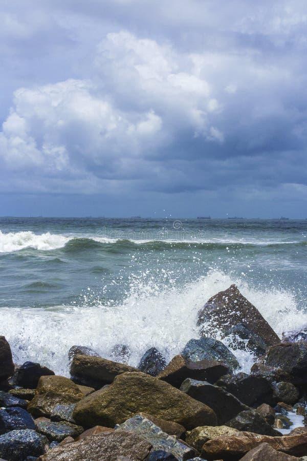 Μια θύελλα έρχεται στοκ φωτογραφίες