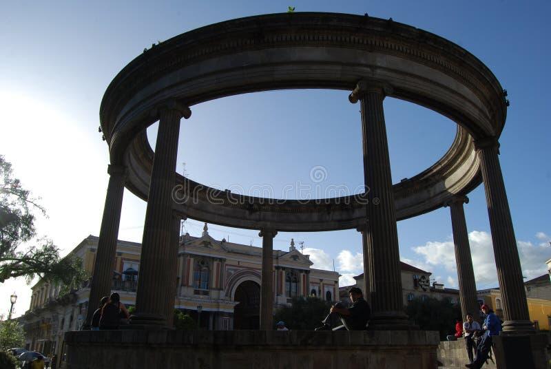Μια καταστροφή στο xula (Quetzaltenango), Γουατεμάλα στοκ φωτογραφίες