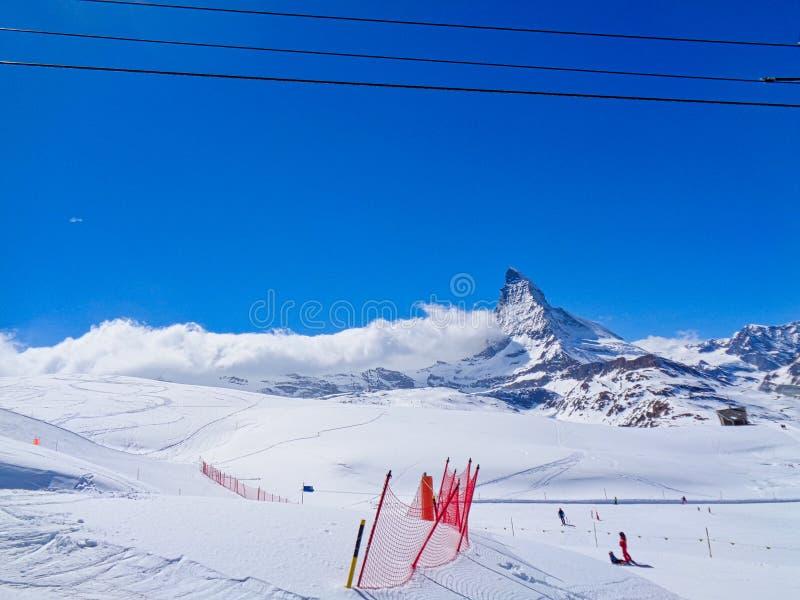 μια κλίση στα ελβετικά όρη στοκ εικόνα με δικαίωμα ελεύθερης χρήσης
