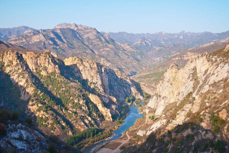 Μια κοιλάδα ποταμών στοκ φωτογραφία με δικαίωμα ελεύθερης χρήσης