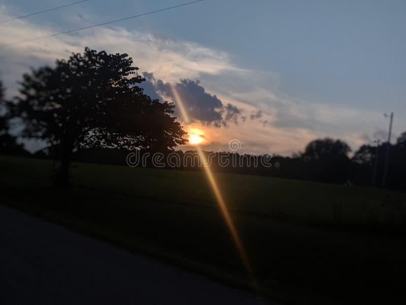 Μια μικρή φέτα του ουρανού στη γη στοκ φωτογραφίες
