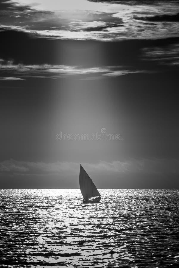 Μια ναυσιπλοΐα Dhoani στοκ φωτογραφίες