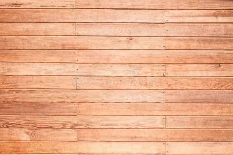 Μια ξύλινη σύσταση σανίδων τοίχων για το υπόβαθρο στοκ εικόνες με δικαίωμα ελεύθερης χρήσης