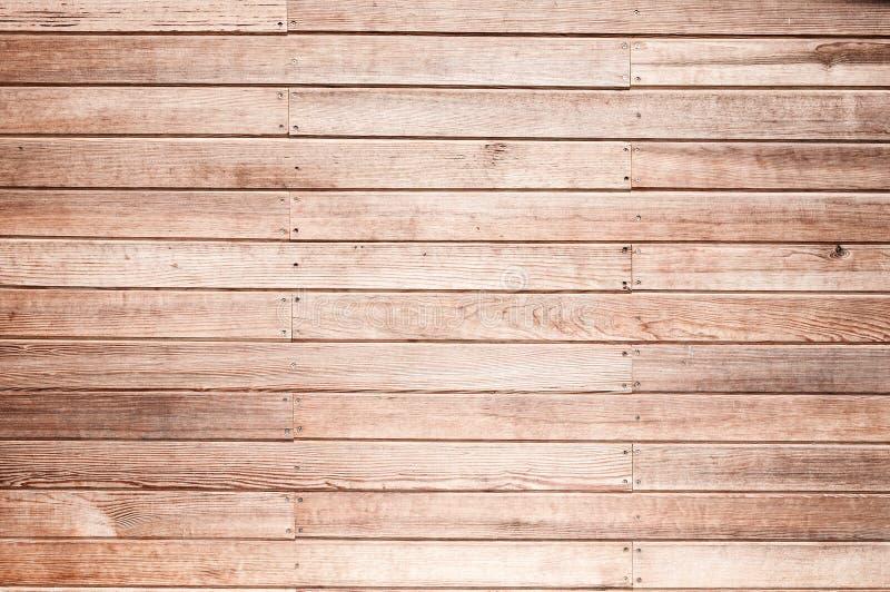 Μια ξύλινη σύσταση σανίδων τοίχων για το υπόβαθρο στοκ εικόνα με δικαίωμα ελεύθερης χρήσης