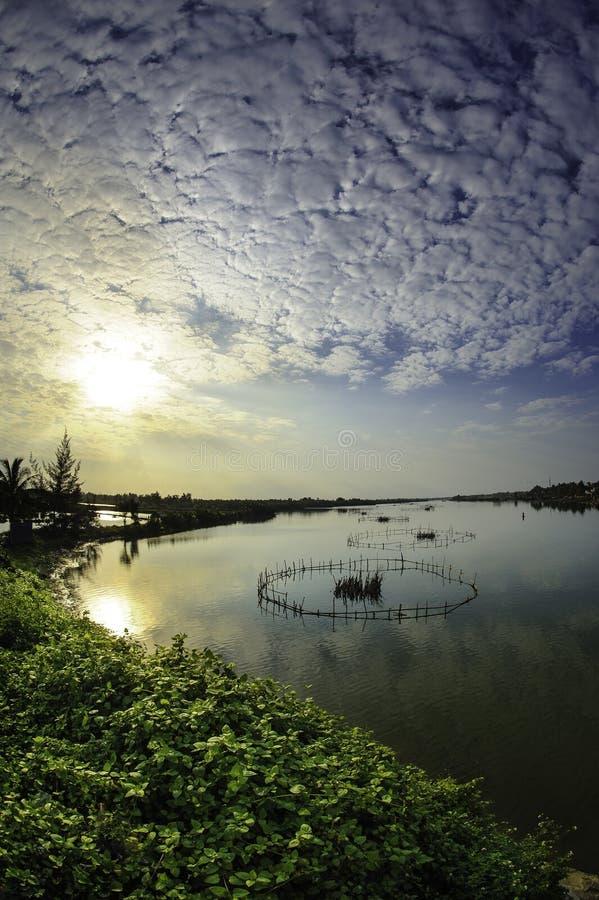 Hoi-λίμνες, Βιετνάμ 7 στοκ φωτογραφία