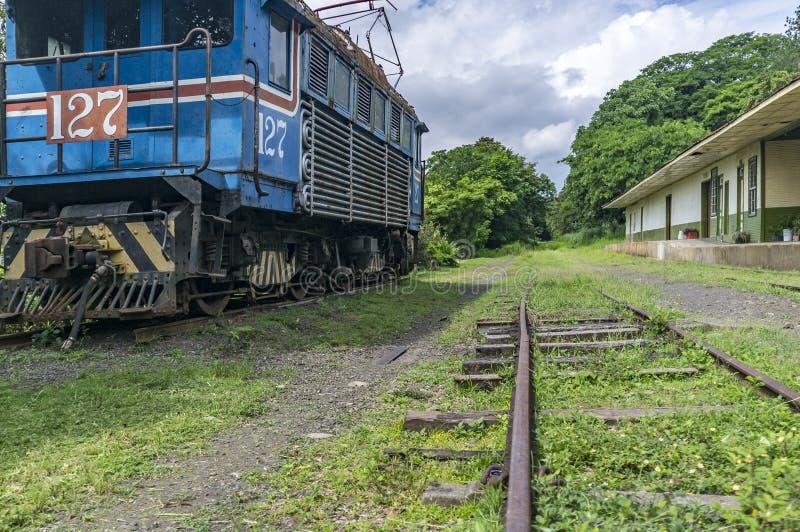 Μια παλαιά απορριμμένη ηλεκτρική ατμομηχανή δίπλα στο μουσείο σιδηροδρόμων του Rio Grande στοκ φωτογραφία με δικαίωμα ελεύθερης χρήσης