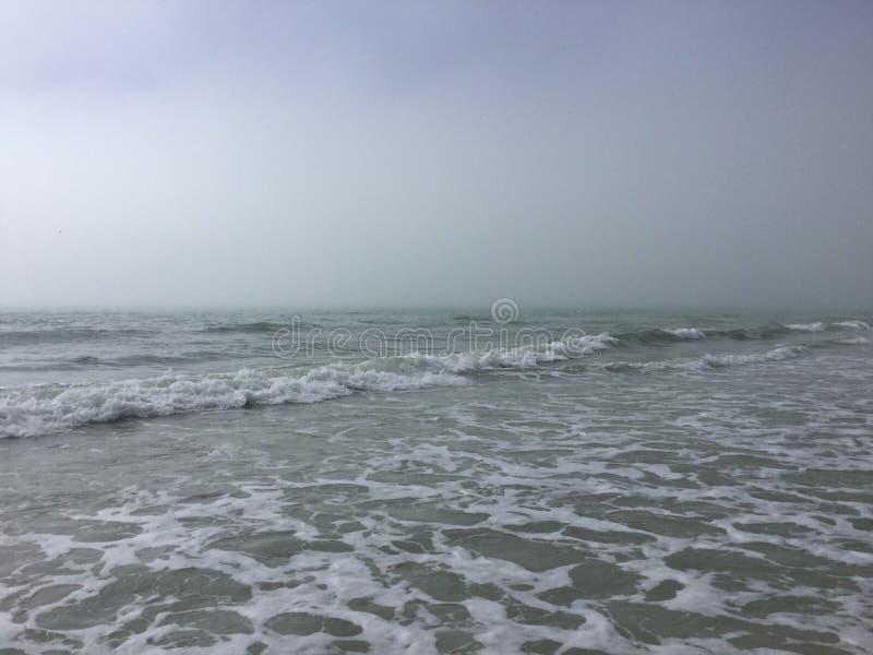 Μια παραλία στην Τάμπα, Φλώριδα στοκ εικόνες
