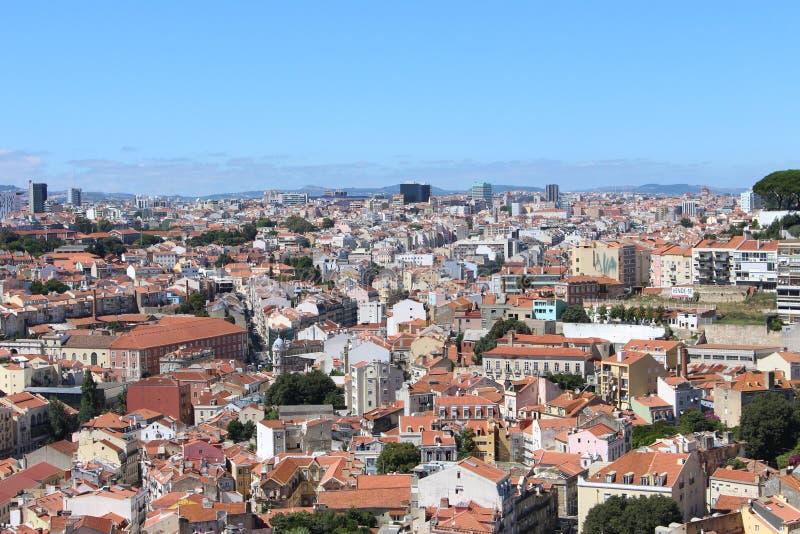 Μια πόλη κατωτέρω στοκ φωτογραφία με δικαίωμα ελεύθερης χρήσης