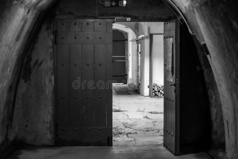 Μια πύλη που οδηγεί κάπου στοκ φωτογραφία με δικαίωμα ελεύθερης χρήσης