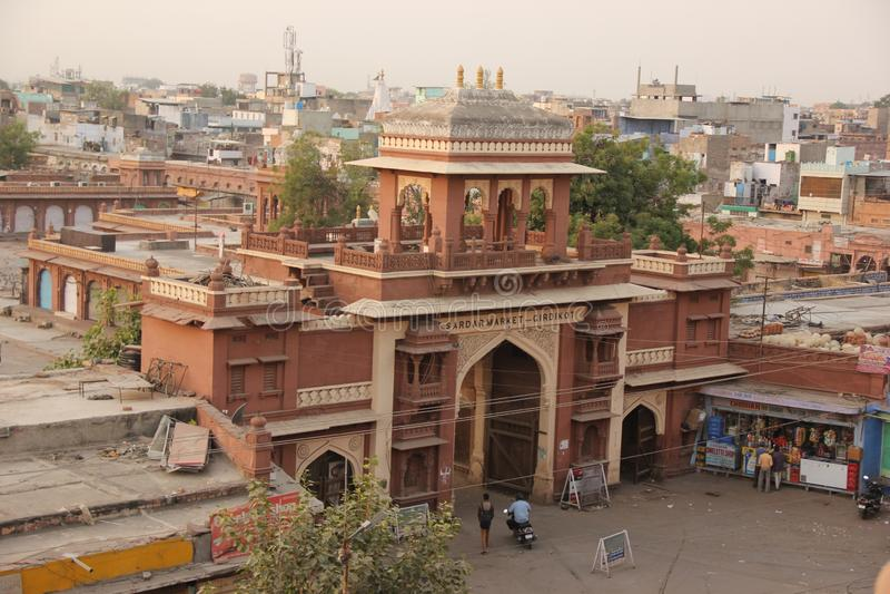 Μια πύλη στην ιστορική πόλη στοκ φωτογραφία με δικαίωμα ελεύθερης χρήσης
