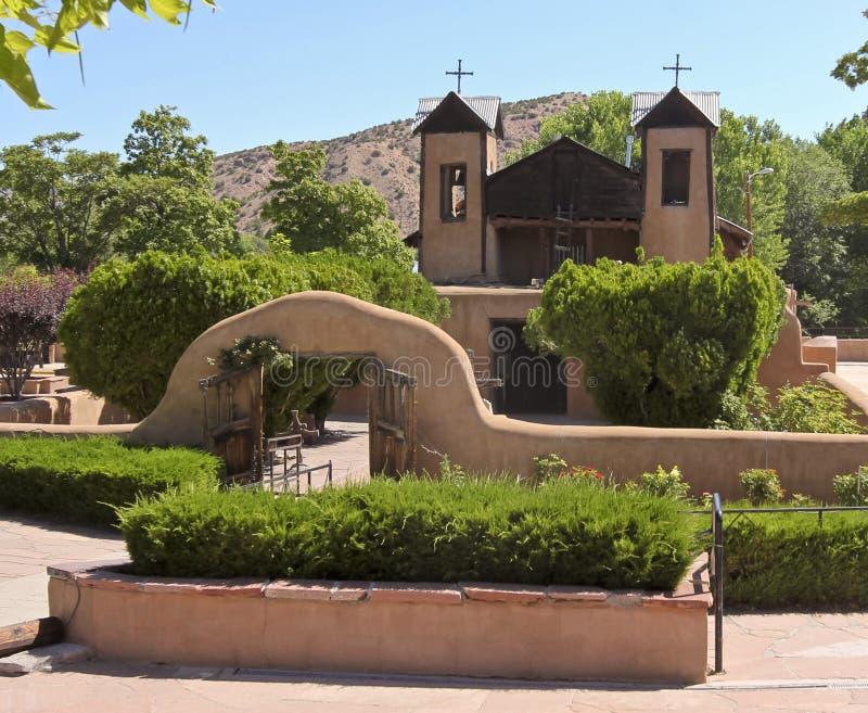 Μια Ρωμαιοκαθολική εκκλησία, EL Santuario de Chimayo στοκ φωτογραφία με δικαίωμα ελεύθερης χρήσης