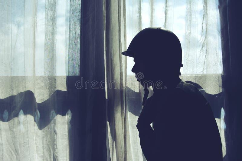 Μια σκιαγραφία στρατιωτών στοκ φωτογραφίες