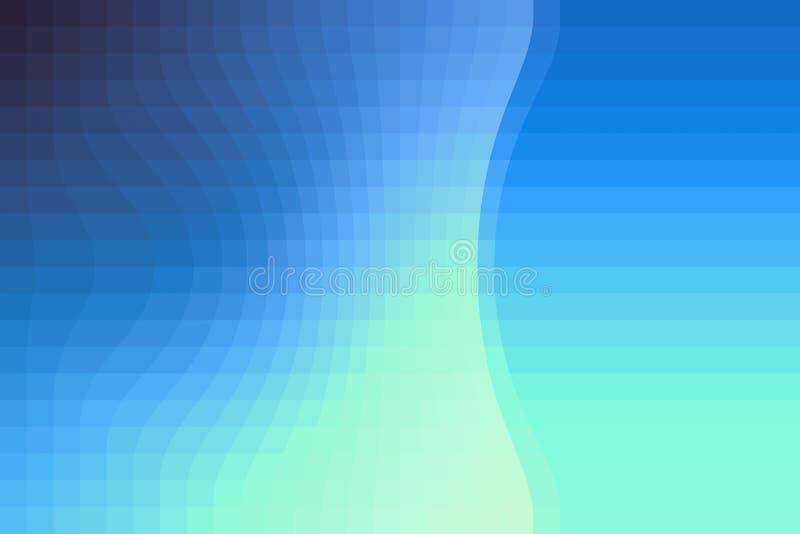 Μια σύγχρονη ανασκόπηση με το κλιμακωτό μπλε χρώμα στοκ εικόνα