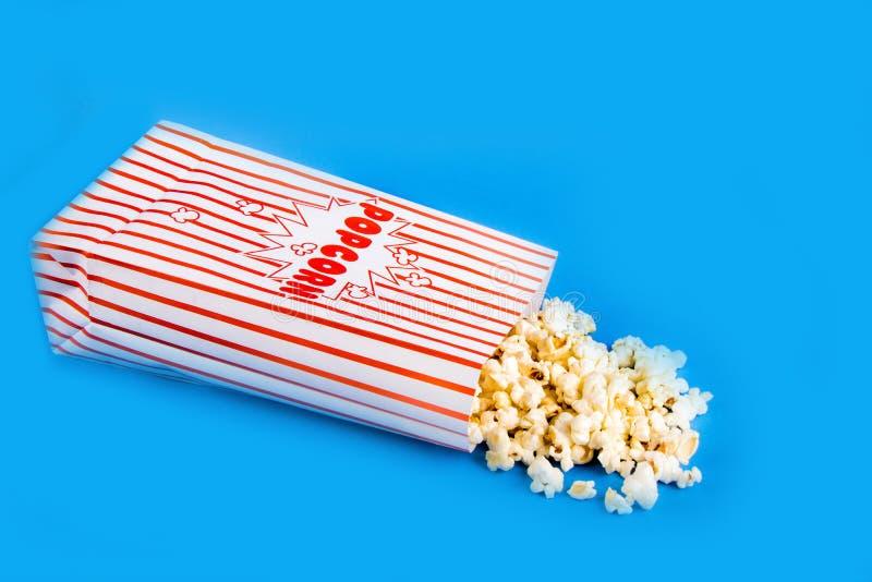 Μια τσάντα popcorn στοκ εικόνες με δικαίωμα ελεύθερης χρήσης