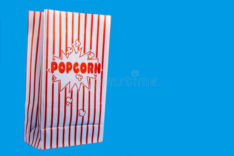 Μια τσάντα popcorn στοκ φωτογραφίες