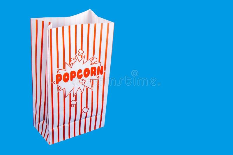 Μια τσάντα popcorn στοκ εικόνες