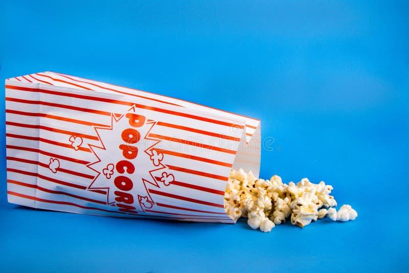 Μια τσάντα popcorn στοκ φωτογραφία με δικαίωμα ελεύθερης χρήσης