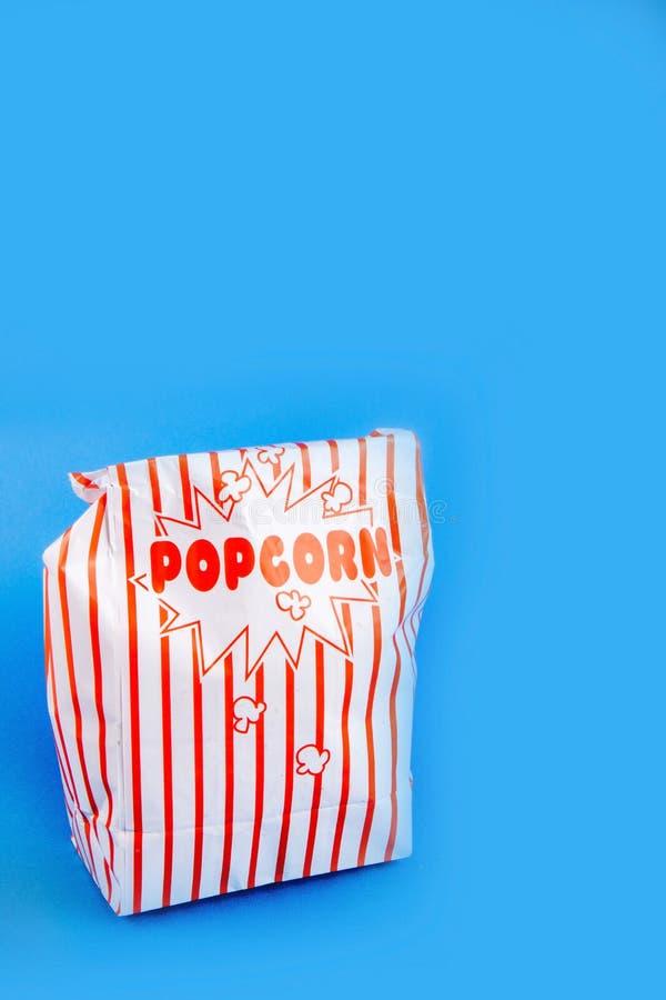 Μια τσάντα popcorn στοκ εικόνα με δικαίωμα ελεύθερης χρήσης