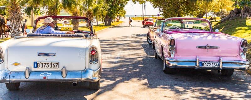 Μια χαρακτηριστική άποψη σε Varadero στην Κούβα στοκ φωτογραφίες