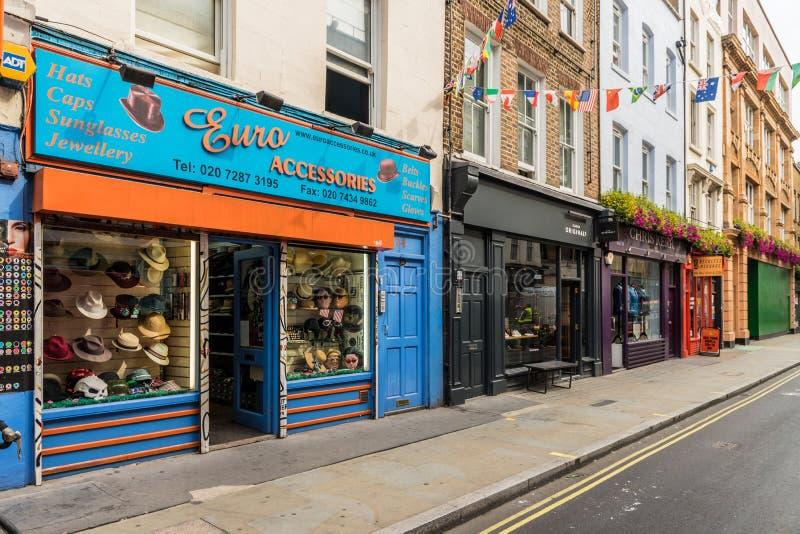 Μια χαρακτηριστική άποψη στο Λονδίνο στοκ εικόνα με δικαίωμα ελεύθερης χρήσης