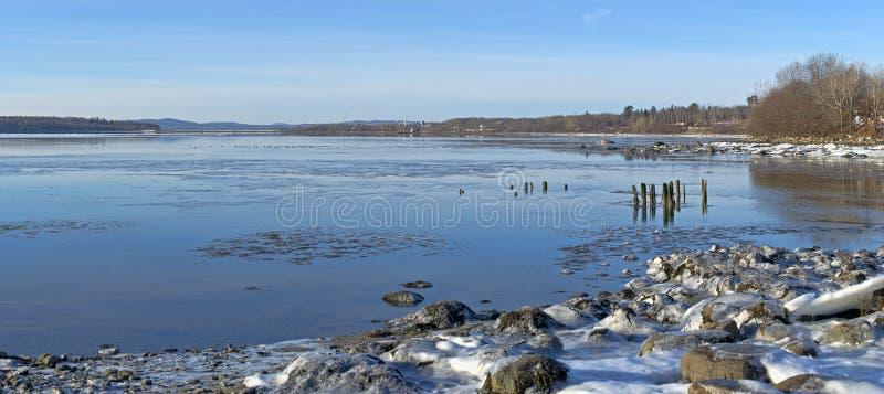 Το Stockton αναπηδά τα παγωμένα νερά στοκ φωτογραφίες με δικαίωμα ελεύθερης χρήσης