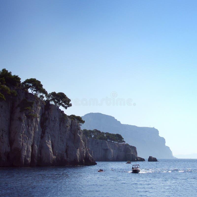 Μια όμορφη ακτή της Γαλλίας στοκ φωτογραφίες με δικαίωμα ελεύθερης χρήσης