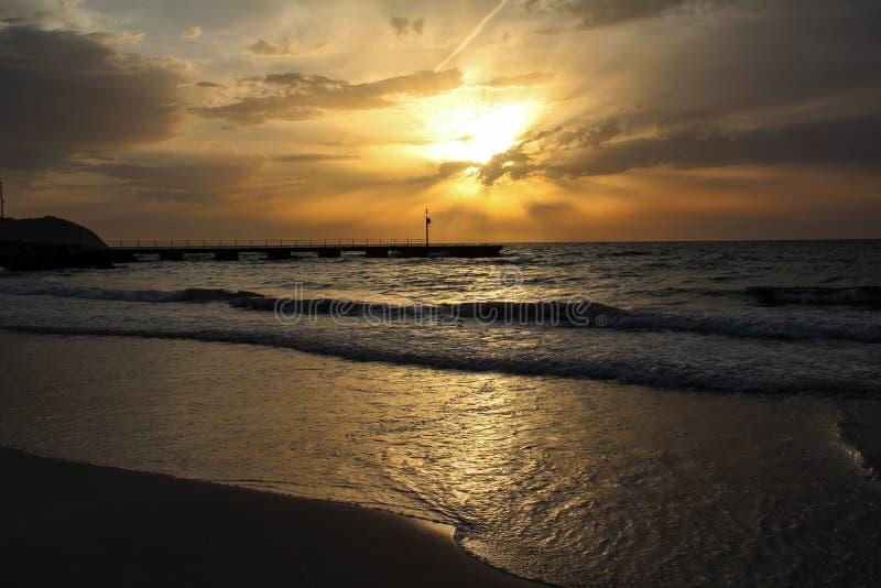 Μια όμορφη ανατολή στο νησί Majorca στοκ φωτογραφία με δικαίωμα ελεύθερης χρήσης