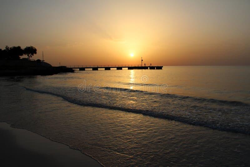 Μια όμορφη ανατολή στο νησί Majorca στοκ φωτογραφίες με δικαίωμα ελεύθερης χρήσης