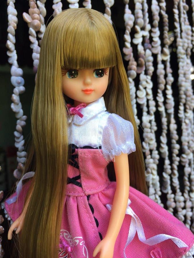 Μια όμορφη κούκλα LICCA στοκ εικόνα με δικαίωμα ελεύθερης χρήσης