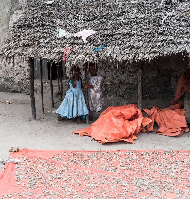 Μικρά αφρικανικά παιδιά στοκ φωτογραφία με δικαίωμα ελεύθερης χρήσης