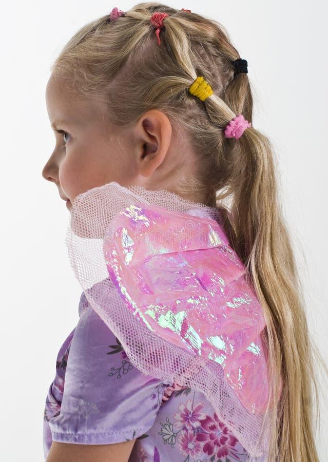 μικρά φτερά κοριτσιών νεράιδων στοκ εικόνες με δικαίωμα ελεύθερης χρήσης