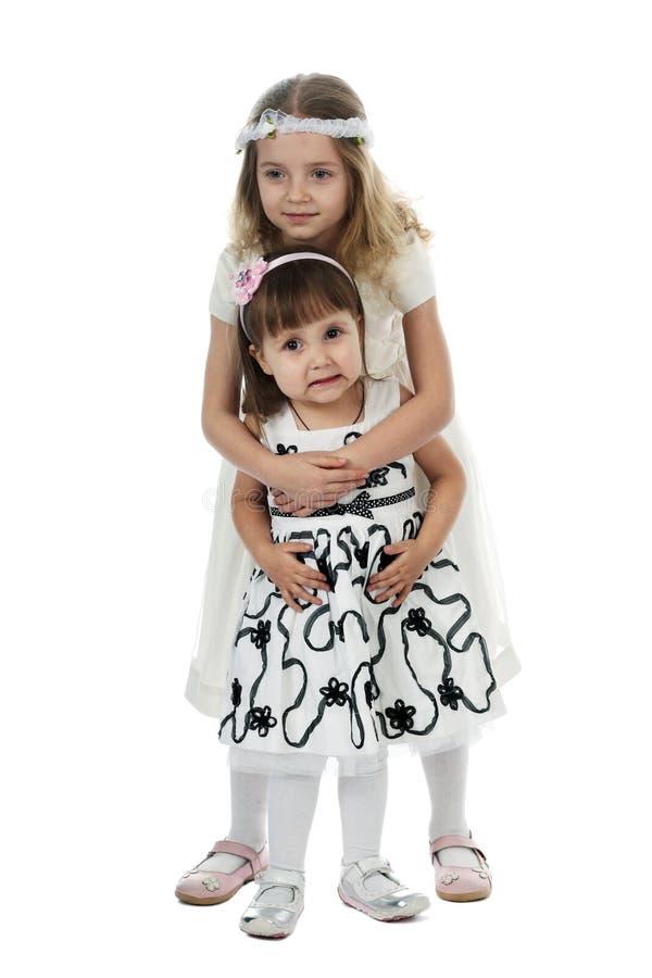 μικρές αδελφές στοκ εικόνες με δικαίωμα ελεύθερης χρήσης