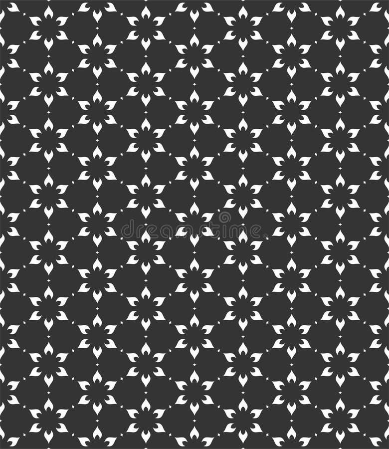 Μικρή απεικόνιση υποβάθρου σχεδίων λουλουδιών στο μαύρο μόριο ν απεικόνιση αποθεμάτων