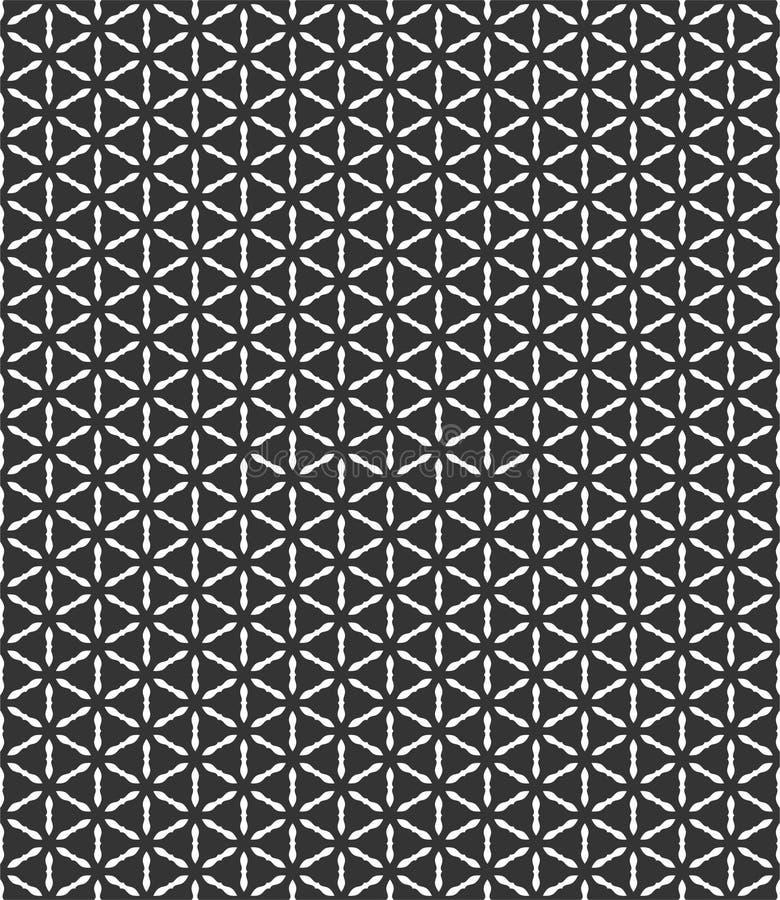 Μικρή διαγώνια απεικόνιση υποβάθρου σχεδίων πετάλων λουλουδιών στο μαύρο μόριο ν ελεύθερη απεικόνιση δικαιώματος